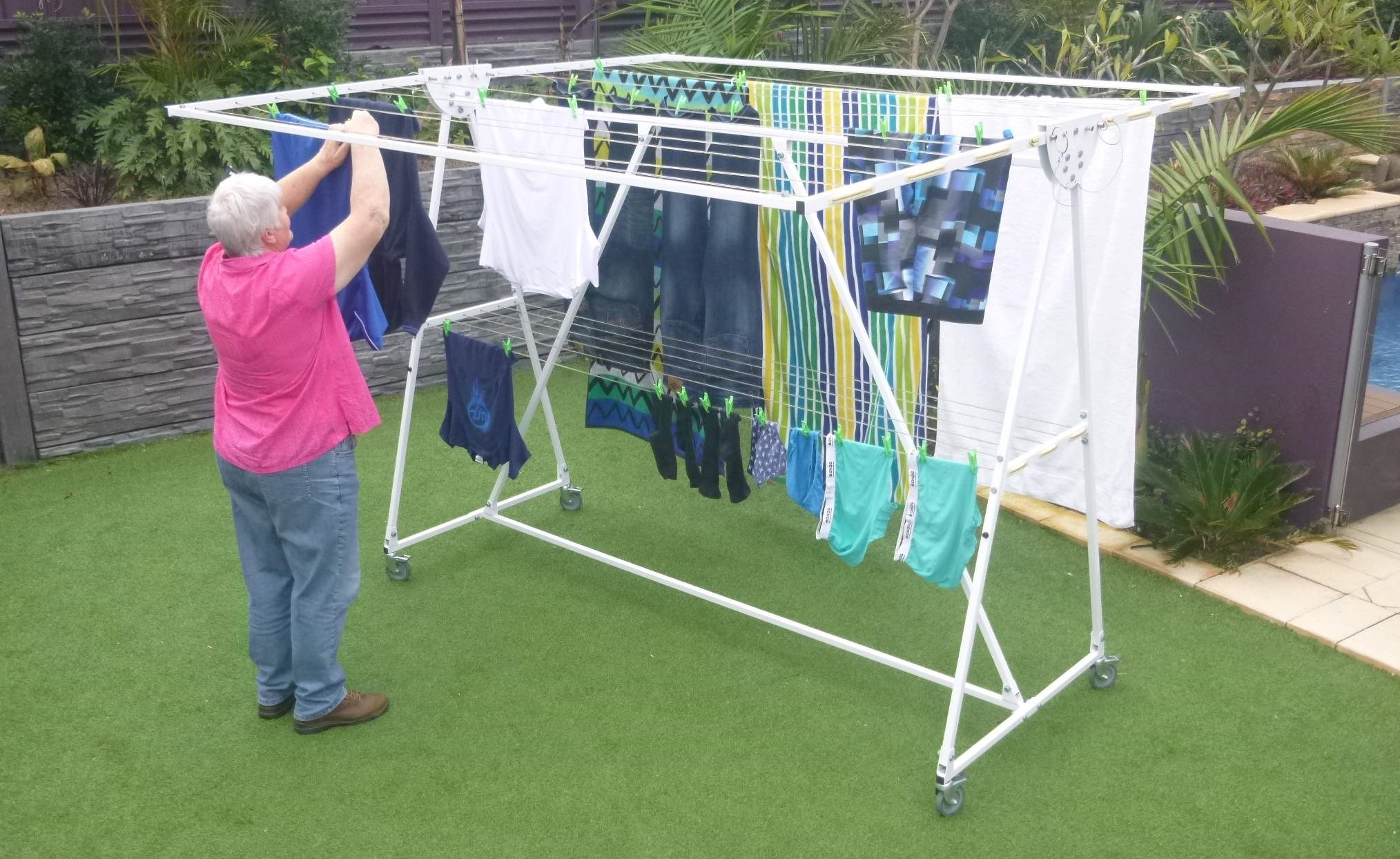 Fulcrum Mobile Clotheslines Home